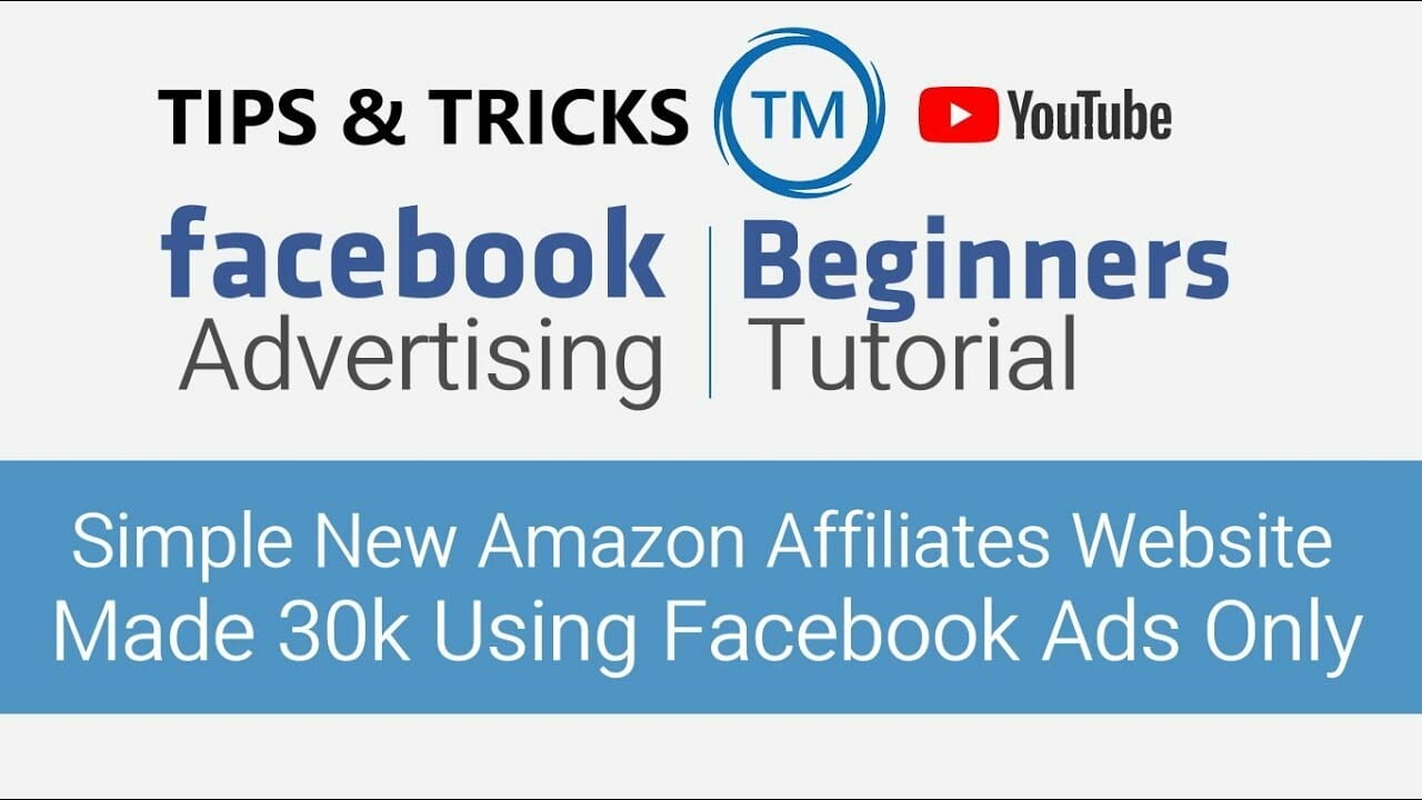 This New Simple Amazon Affiliates Website Made 30k Using Facebook Ads Only Hindi 2019