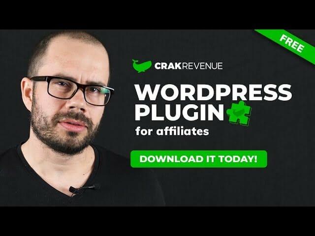 CrakRevenue's Free WordPress plugin for affiliates!