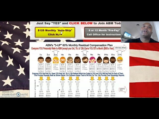 AMERICAN BILL MONEY WITH HOME BUSINESS AFFILIATES