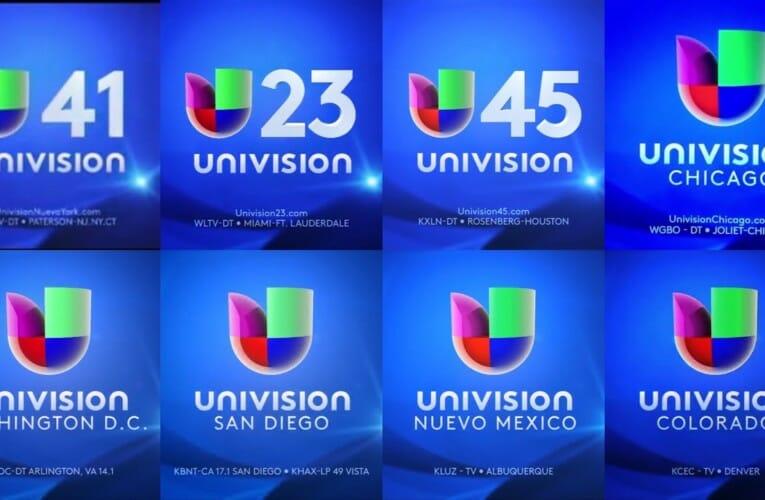 Univision Affiliates Compilation Station IDs 2013-2017