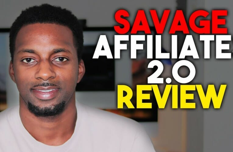 Savage Affiliates 2.0 by Franklin Hatchett (Honest Review)