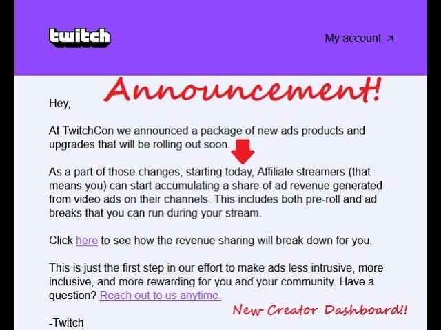 Twitch Affiliates Can Now Run Ads! (Earn Revenue)