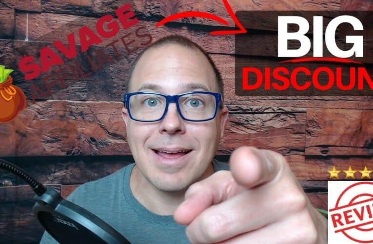 Savage Affiliates Review – Plus Big Discount!!