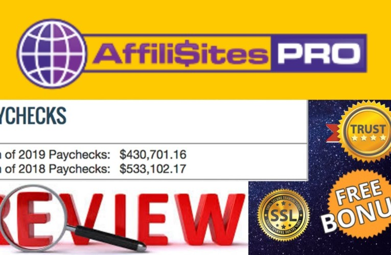 AffiliSites PRO Review, Demo, $25650 Bonus, Affiliates Pro Review