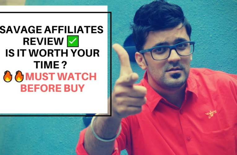 Savage Affiliates Review ✅ Should You Buy It ? Must WATCH