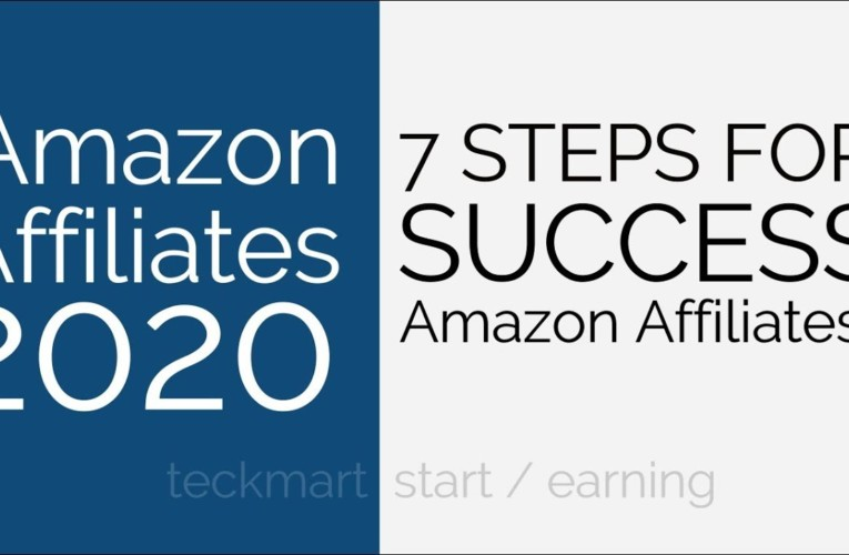 7 Steps for Successful Amazon Affiliates Website Hindi in Year 2020