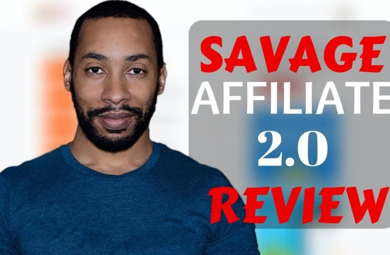 Savage Affiliates 2.0 By Franklin Hatchett Review (Honest Review)