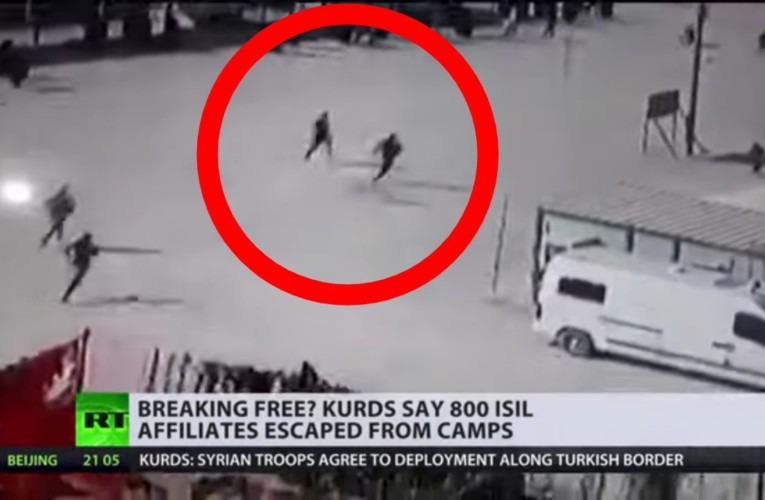 Hundreds of ISIS affiliates escaped from camps as Turkey began its incursion – Kurds