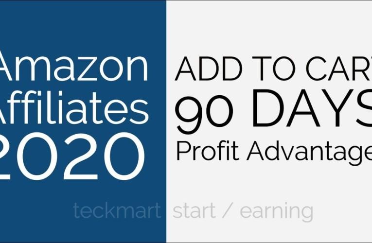 90 Days Cookie Profit Advantage Amazon Affiliates Website Hindi 2020