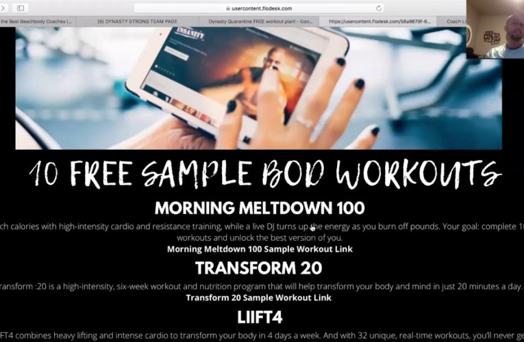 How to Create Custom Link to any Beachbody Page for Affiliates
