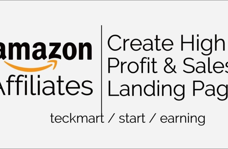Best Landing Page Creator Tool For Amazon Affiliates Hindi 2020