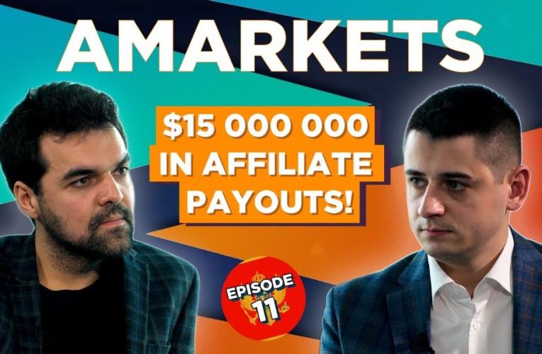 AMarkets — international forex broker.  $15 000 000 payouts to affiliates already!