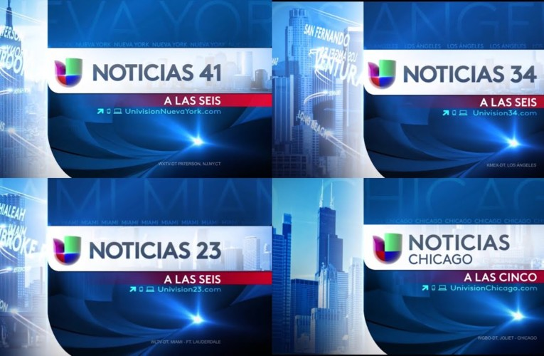 The Ultimate Noticias Univision Affiliates News Graphic Packages Compilation 2013-2019