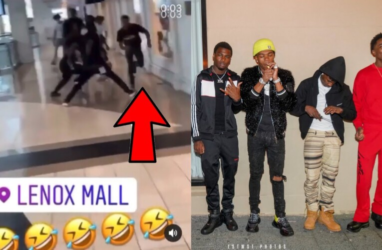 Lil Baby Affiliates Put The Paws On Teejayx6 In Lenox Mall😂?