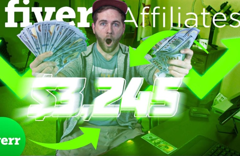 How to Make Money Online with Fiverr Affiliates!