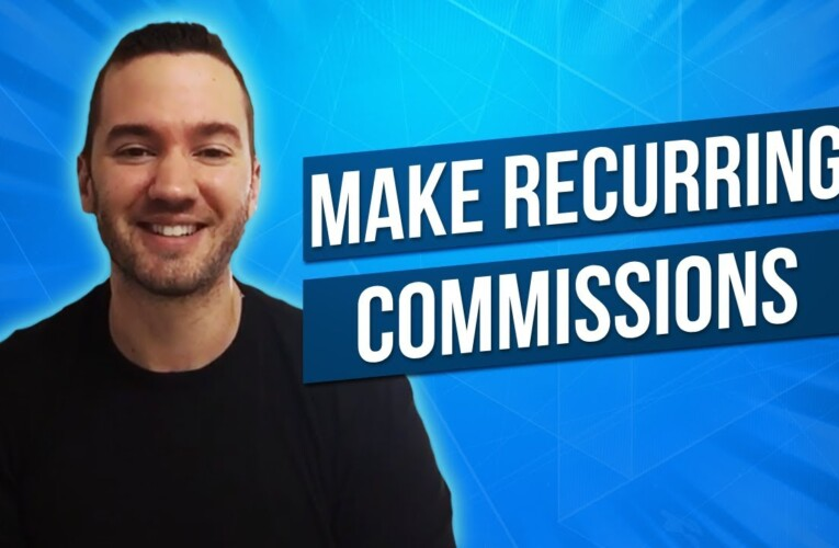 Recurring Commissions Affiliate Programs ♻️ Affiliate Offers To Promote