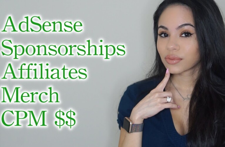HOW TO MAKE THE MOST MONEY FROM YOUTUBE! ADSENSE, SPONSORSHIPS, AFFILIATES & MORE