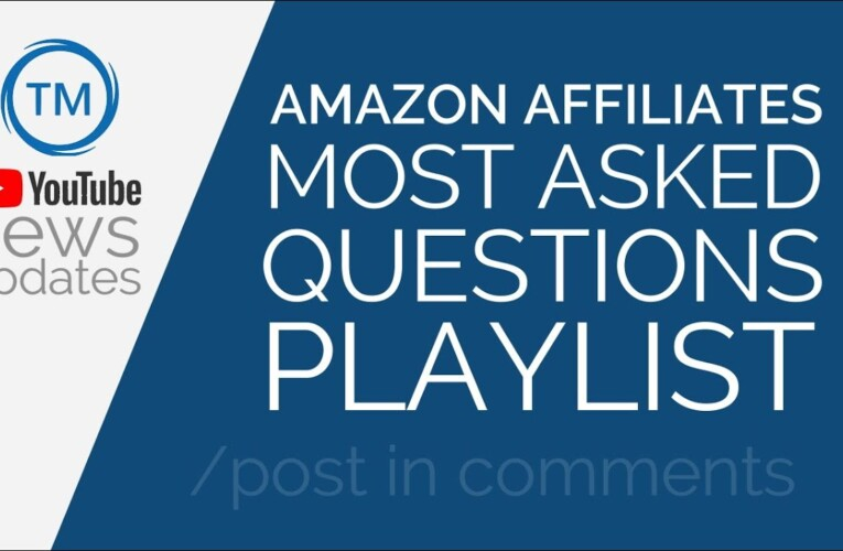 *MUST WATCH* Amazon Affiliates Most Asked Questions Playlist Hindi