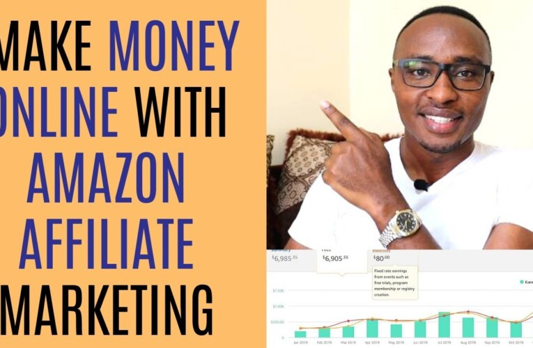 How To Make Money Online With Amazon Affiliates | Amazon Affiliate Marketing For Beginners 2020