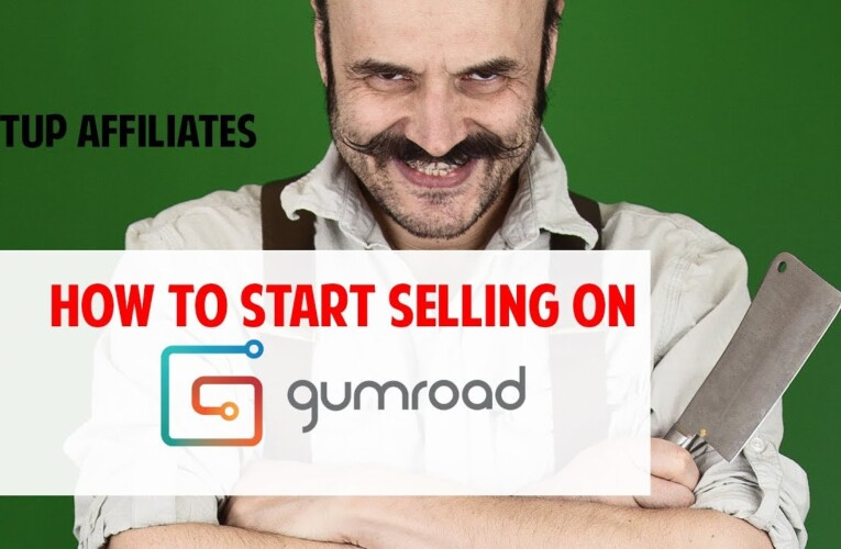 Start selling on Gumroad how to setup Affiliates 6