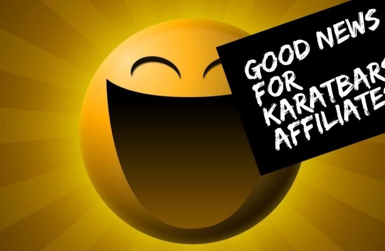 Good News For Karatbars Affiliates