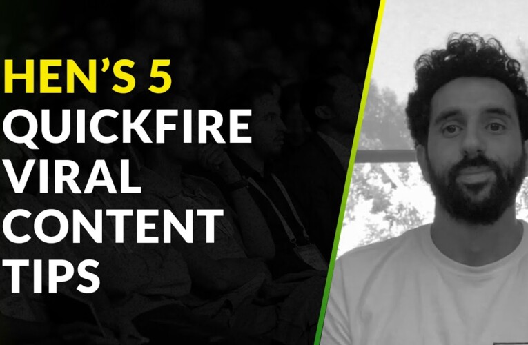 5 Quick-Fire Viral Content Tips for Affiliates