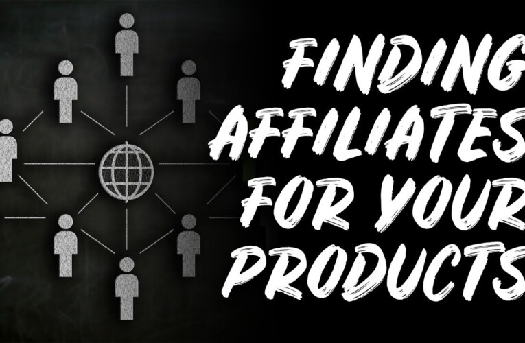 How to Find Affiliates to Promote YOUR Products & Services – The Income Stream Day 147