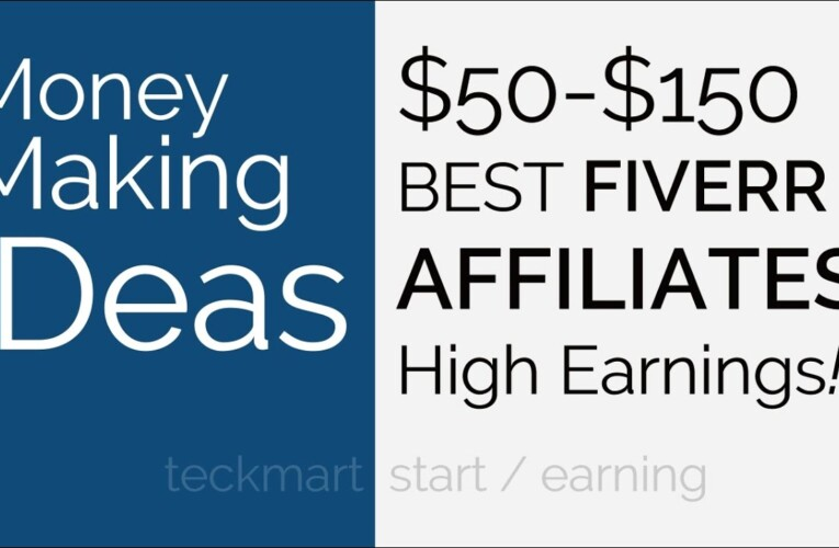 Earn $50 $150 CPA Fiverr Affiliates Program Hindi