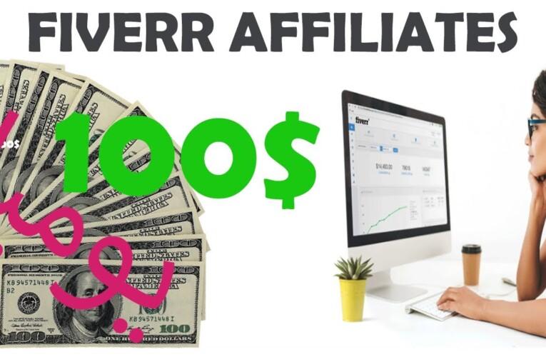 كيفية ربح أكثر من مئة دولار يوميا من موقع fiverr affiliates