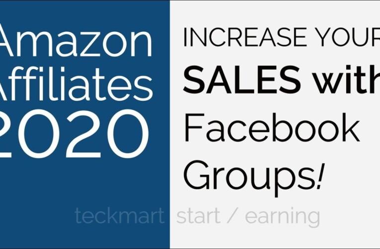 Increase Sales With Facebook Groups Amazon Affiliates Hindi