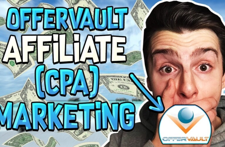 How To Find Affiliate Offers To Promote From OfferVault (CPA Marketing)