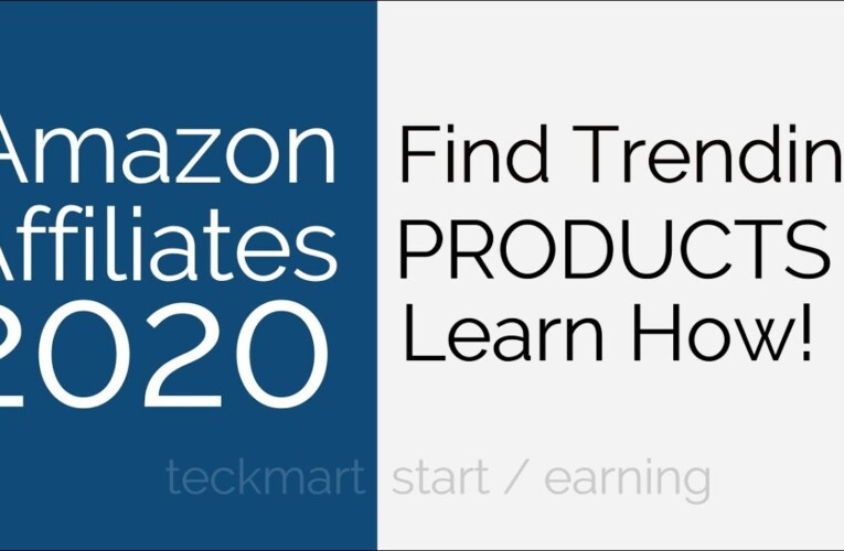 How to Find Trending Products for Amazon Affiliates Website 2020 Hindi
