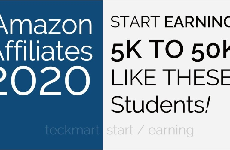 Earn 5K to 50K Like These Students Amazon Affiliates EARNING PROOF 2020 Hindi