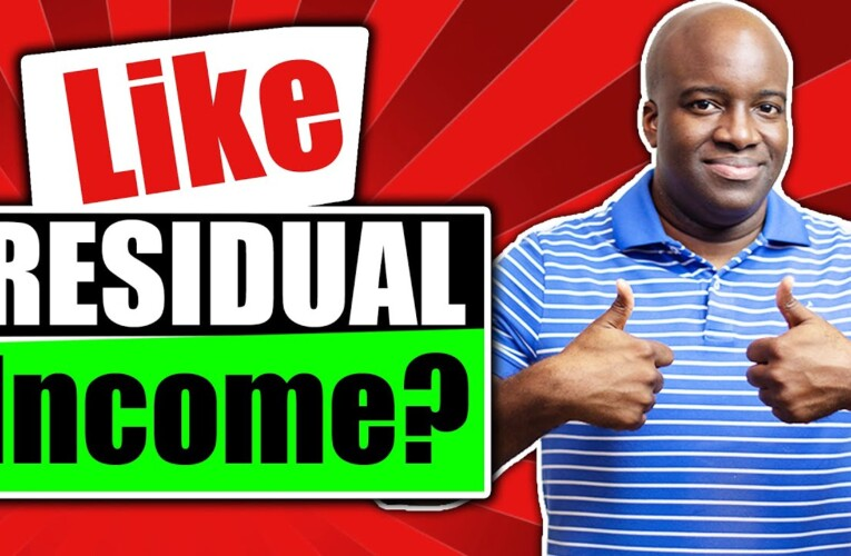 RESIDUAL INCOME MODEL | MAKE RECURRING MONEY ONLINE FOR AFFILIATES
