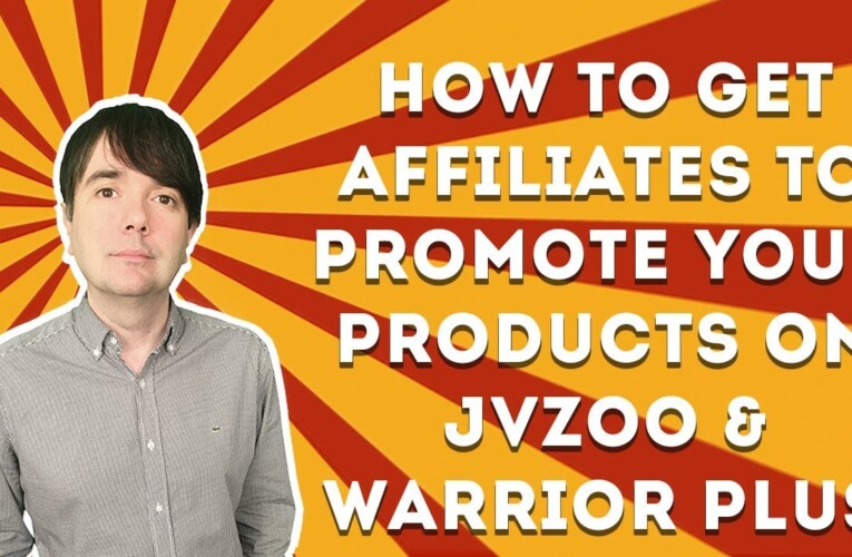 How To Get Affiliates To Promote Your Products