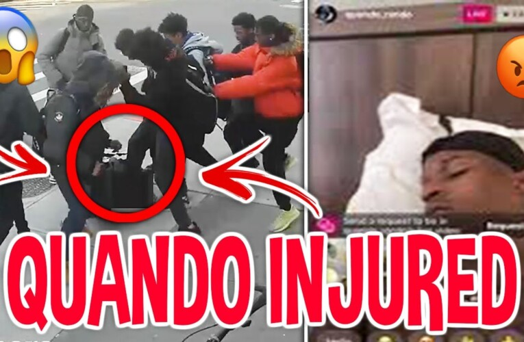 OTF AFFILIATES Pulls Up On QUANDO RONDO In Hood *LEAKED FOOTAGE*