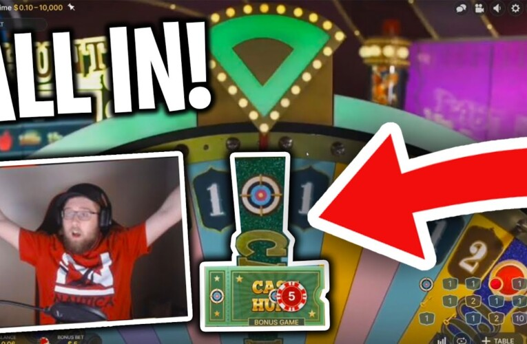 ALL IN BET FROM AFFILIATES WINS BIG ON ROOBET CRAZY TIME! w/ Facecam