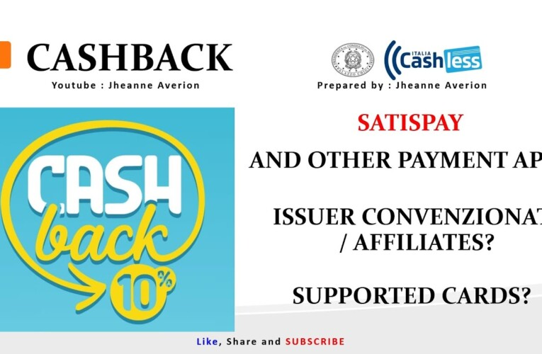 Cashback Affiliates Applications and Supported Cards