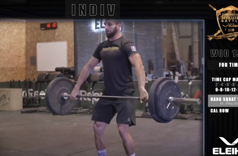 – AFFILIATES BATTLE WOD 19.3 INDIV –