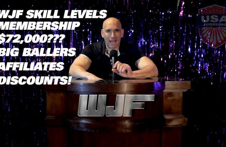 WJF Skill Levels, Affiliates, $72K and Competition Results