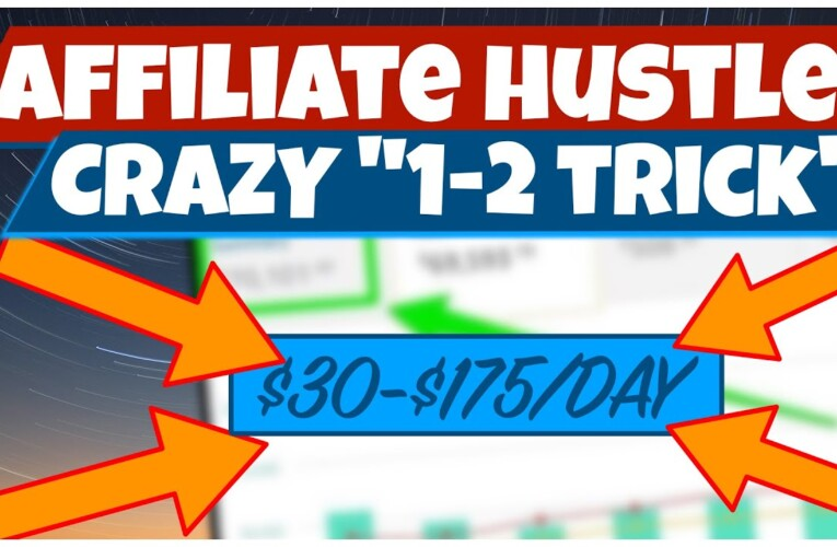 BRAND NEW AFFILIATE MARKETING METHOD – $30-75/Day – (ALL AFFILIATE OFFERS, AVAILABLE WORLDWIDE)