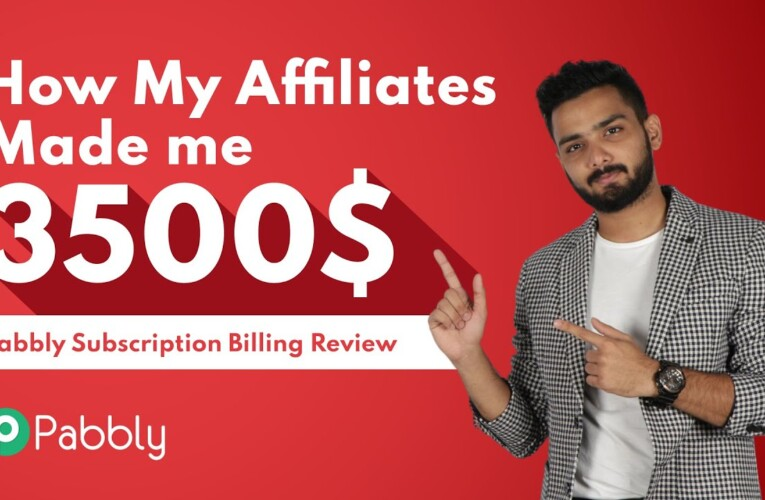How my affiliates made me 3500$ | Pabbly Subscription Billing Review | Lifetime Deal