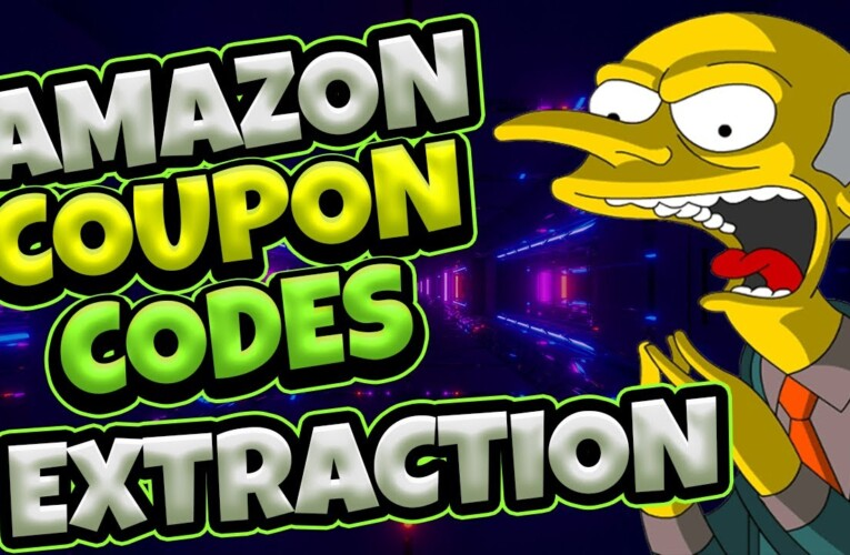 Amazon Affiliates Coupon Promo Codes Extraction 2021