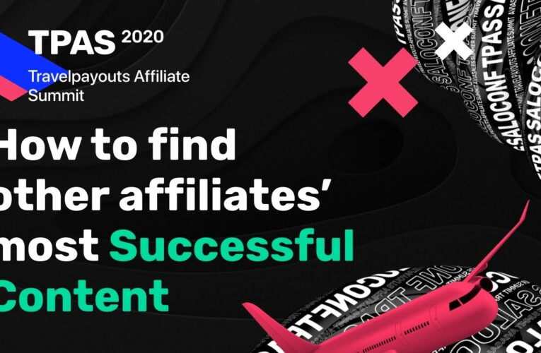 How to find other affiliates' most successful content