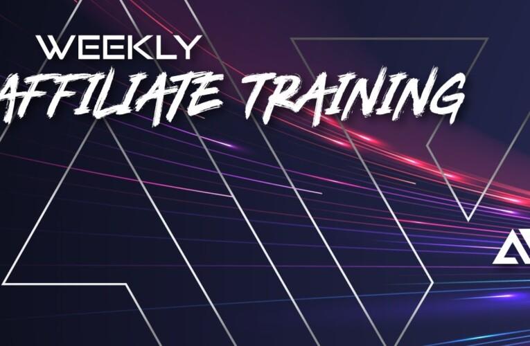 May 1, 2021 – Affiliate Training with Matt Ward