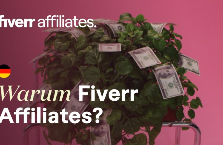 Fiverr Affiliates Intro | Erhöhe deine Einnahmen, indem du Traffic für Fiverr generierst