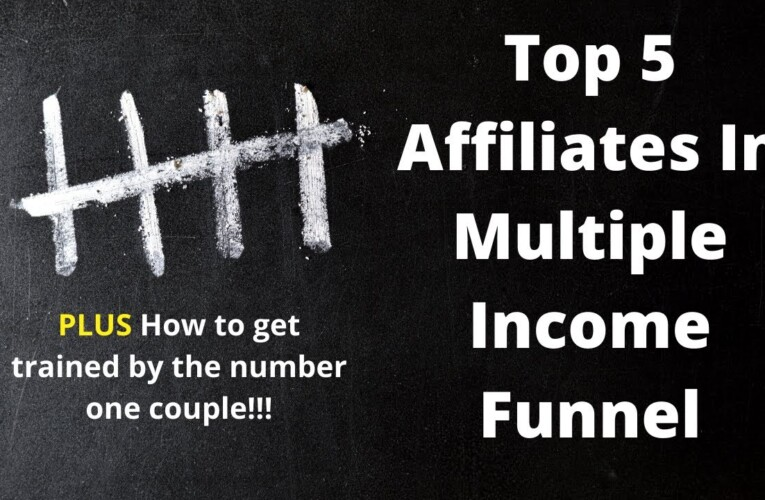Top 5 affiliates in the Multiple Income Funnel plus how to get trained by number one affiliate