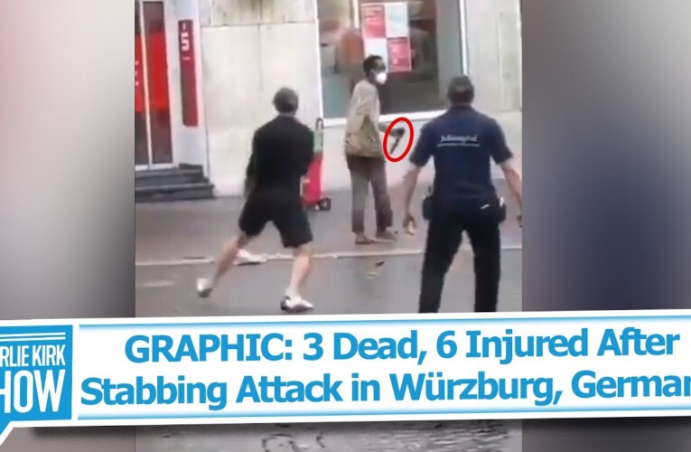 GRAPHIC: 3 Dead, 6 Injured After Stabbing Attack in Würzburg, Germany