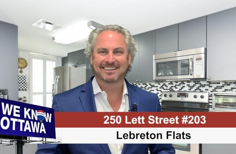 250 Lett Street – LeBreton Flats – Hamre Real Estate Team RE/MAX Affiliates