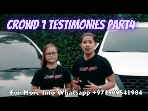 Testimonies of Crowd 1 Affiliates Part4 by Albert Santos Gayo